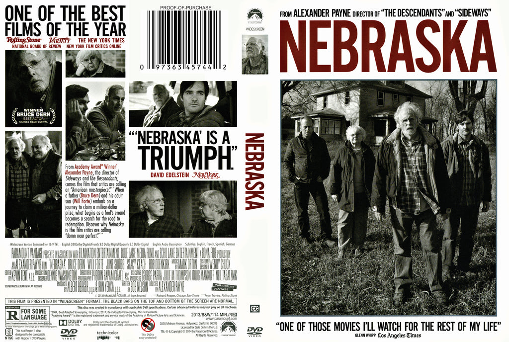 """Nebraska"" The Movie DVD"
