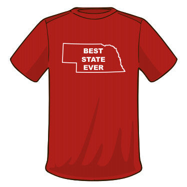 Best State Ever Nebraska T-Shirt