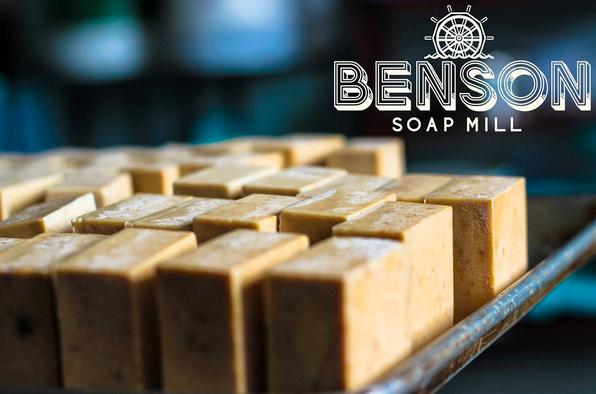 Benson Soap Mill Handcrafted Eucalyptus & Rosemary Bar