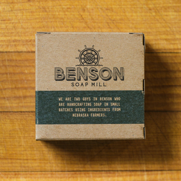 Benson Soap Mill Handcrafted Pine Tree Soap Bar