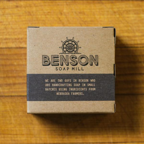 Benson Soap Mill Handcrafted Charcoal Soap Bar