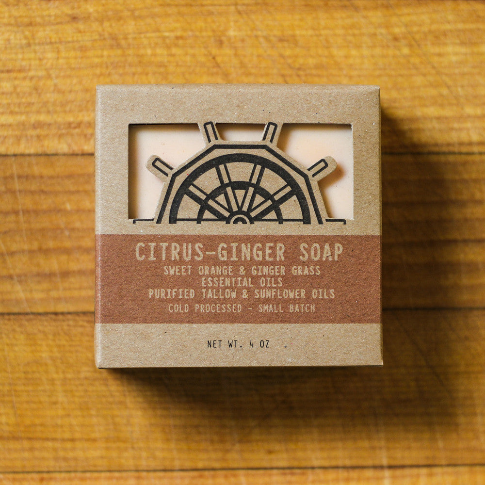 Bensonn Soap Mill Handcrafted Citrus Ginger Soap
