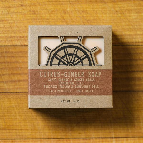 Benson Soap Mill Handcrafted Citrus Ginger Soap