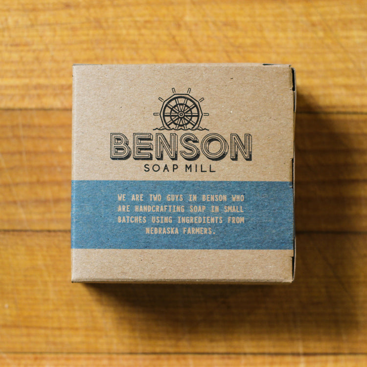 Benson Soap Mill Handcrafted Peppermint Soap Bar
