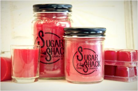 Sugar Shack Red Hot Cinnamon Candle
