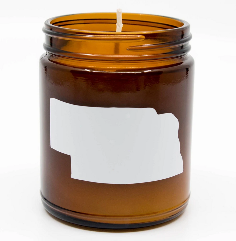 Wax Buffalo Nebraska Candle, Sweet Tobacco