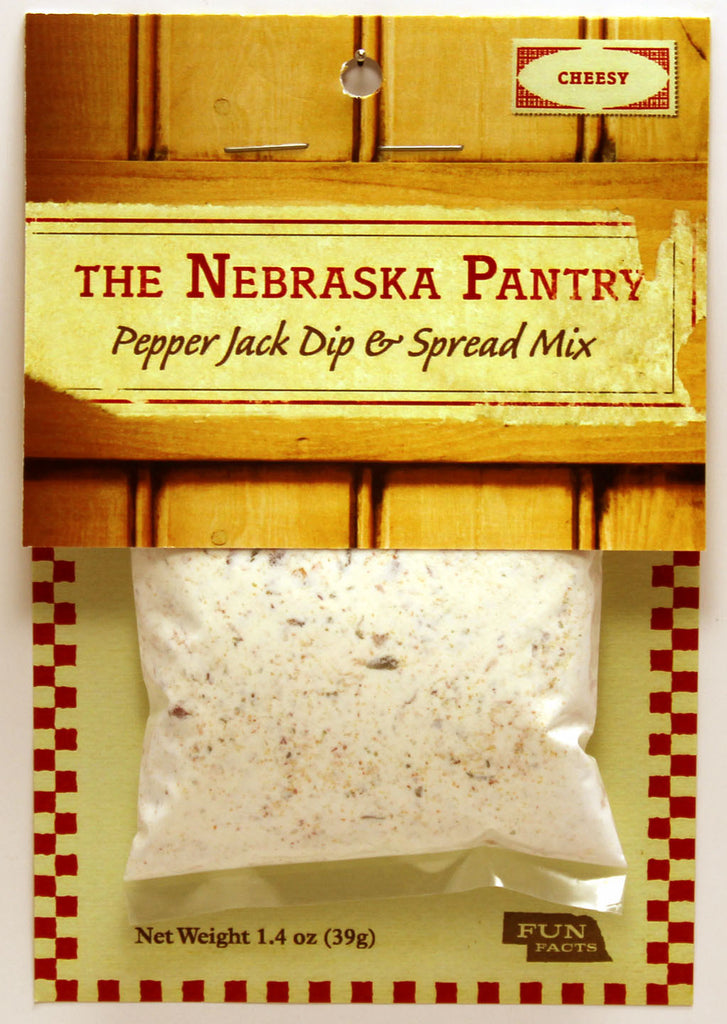 Nebraska Pantry Pepperjack Dip and Spread Mix