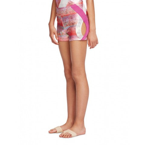 Capezio Girl's Double Layout Shorts