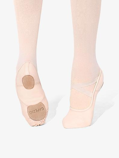 Capezio Women's Pink Canvas Hanami Ballet Shoes