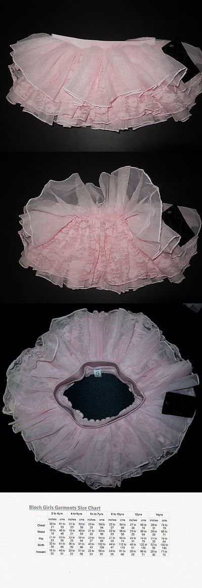 Bloch Girl's Pink Lace Tutu Skirt