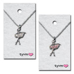 TYVM Crystal Ballerina Necklace