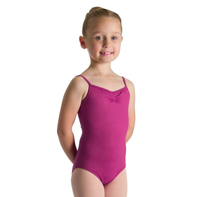 Bloch Girl's Pinched Front Tactel Camisole Leotard