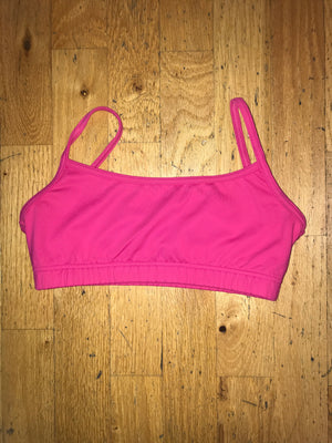 Women's Bra Top....Black, Hot Pink, Purple