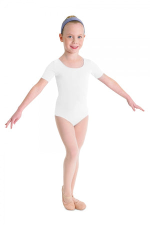 Bloch Girl's Cap Sleeve Leotard
