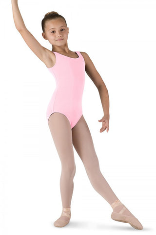 Bloch Round Neck Tank Leotard - Children