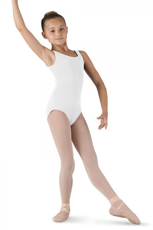 Bloch Girl's Round Neck Tank Leotard