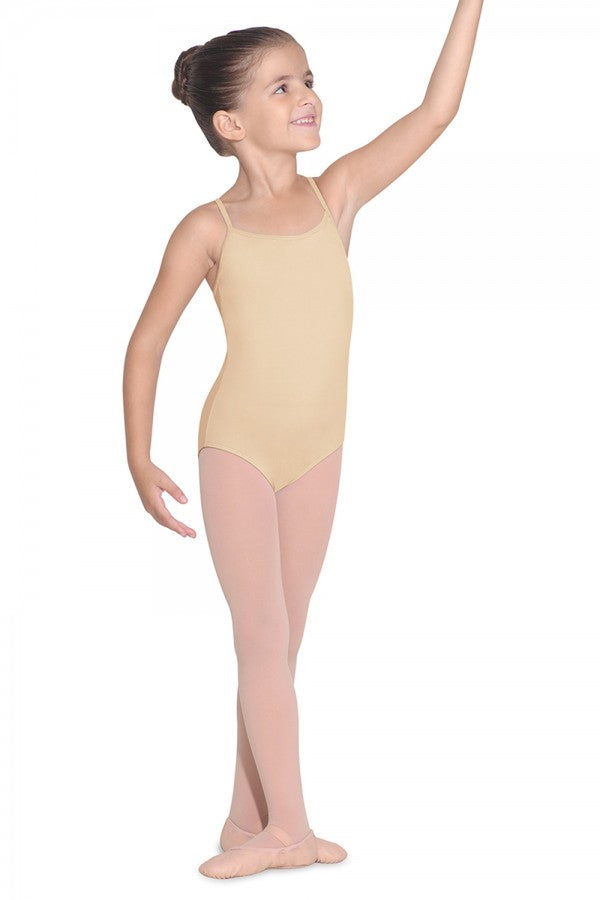 Bloch Girl's Nude Leotard