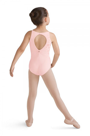 Bloch Girl's Leotard with Flowers