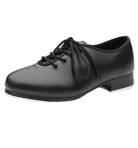 Dance Now Black Adult Student Jazz Tap Shoes