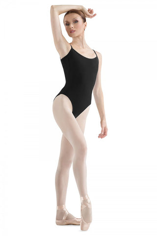 Women's Bloch Black Sissone High Leg Low Back Leotard