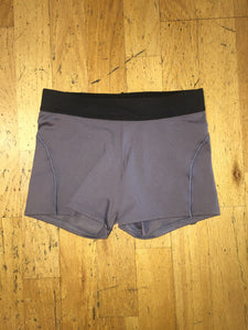 Women's Grey/Black Shorts