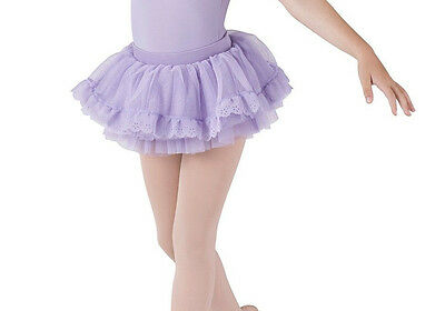 Bloch Girl's Pink Scallop Tutu Skirt