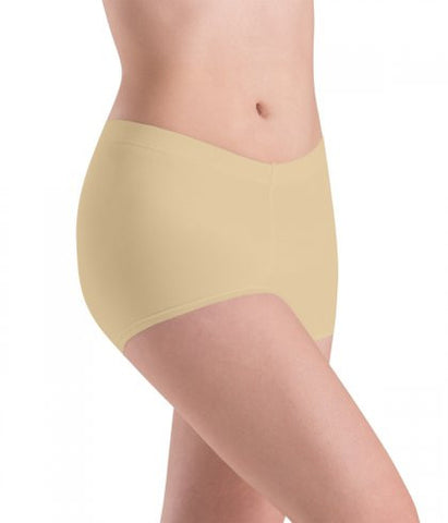 Motion wear Nude & Black Low Rise Shorts