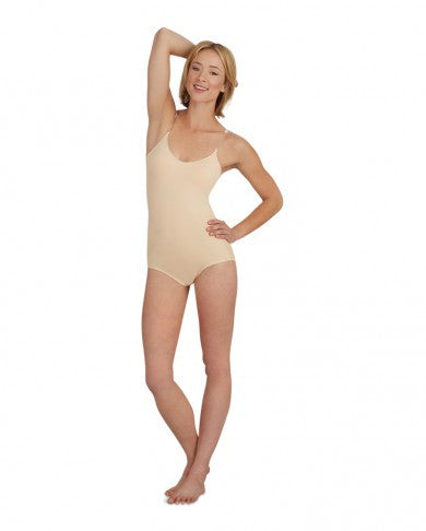 Capezio Woman's Nude Leotard with Bra