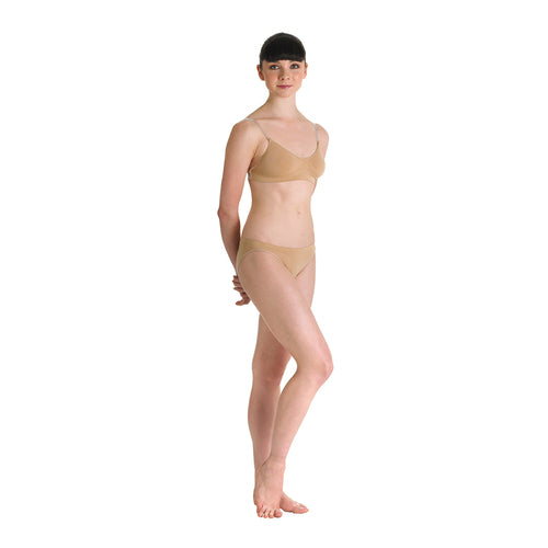 Bloch Women's Nude Brief Knickers