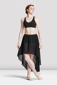 Bloch Women's High Lo Skirt w/ Short Under