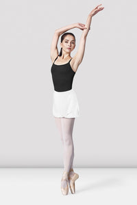 Bloch Adult White Georgette Wrap Skirt