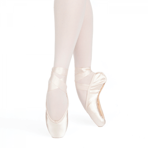 Russian Pointe Women's Pink Entrada U-Cut Drawstring Pointe Shoe