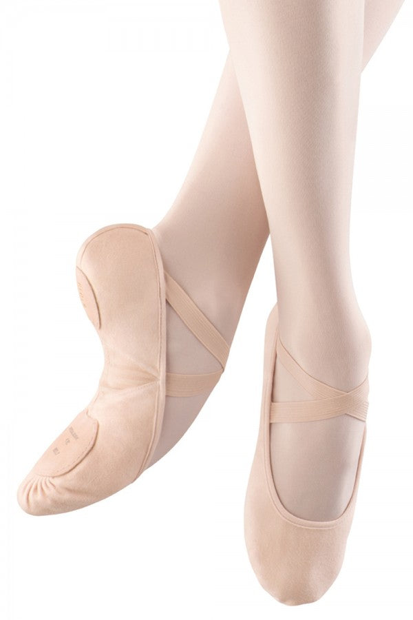Bloch Women's Pro Arch Canvas Ballet Shoes - Clearance On-Line Sales