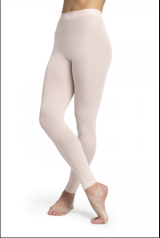 Bloch Girl's Contoursoft Footless Tights