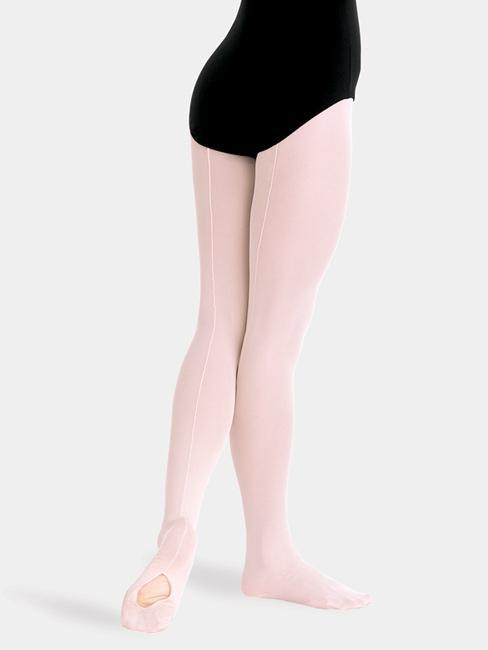 Body Wrappers TotalSTRETCH® Mesh Back Seam Convertible Tights - Women