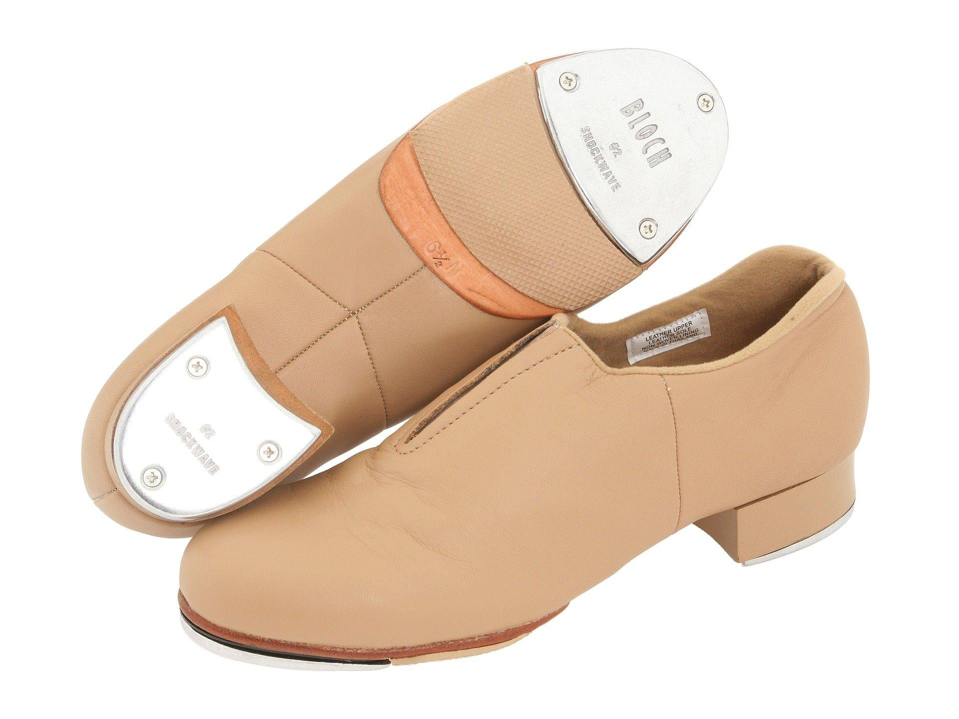 Bloch Adult Leather Tap Flex Slip On