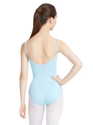Capezio Women's Light Blue Adjustable Cami Leotard
