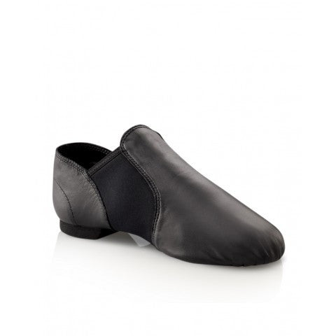 Adult Capezio Black Leather Jazz Shoes