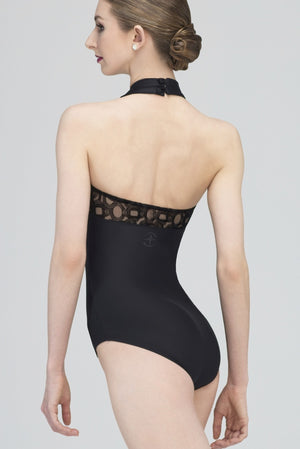 Wear Moi Women's Black Amour Leotard