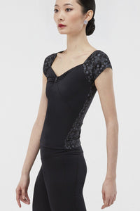 Wear Moi Women's Black/Silver Top
