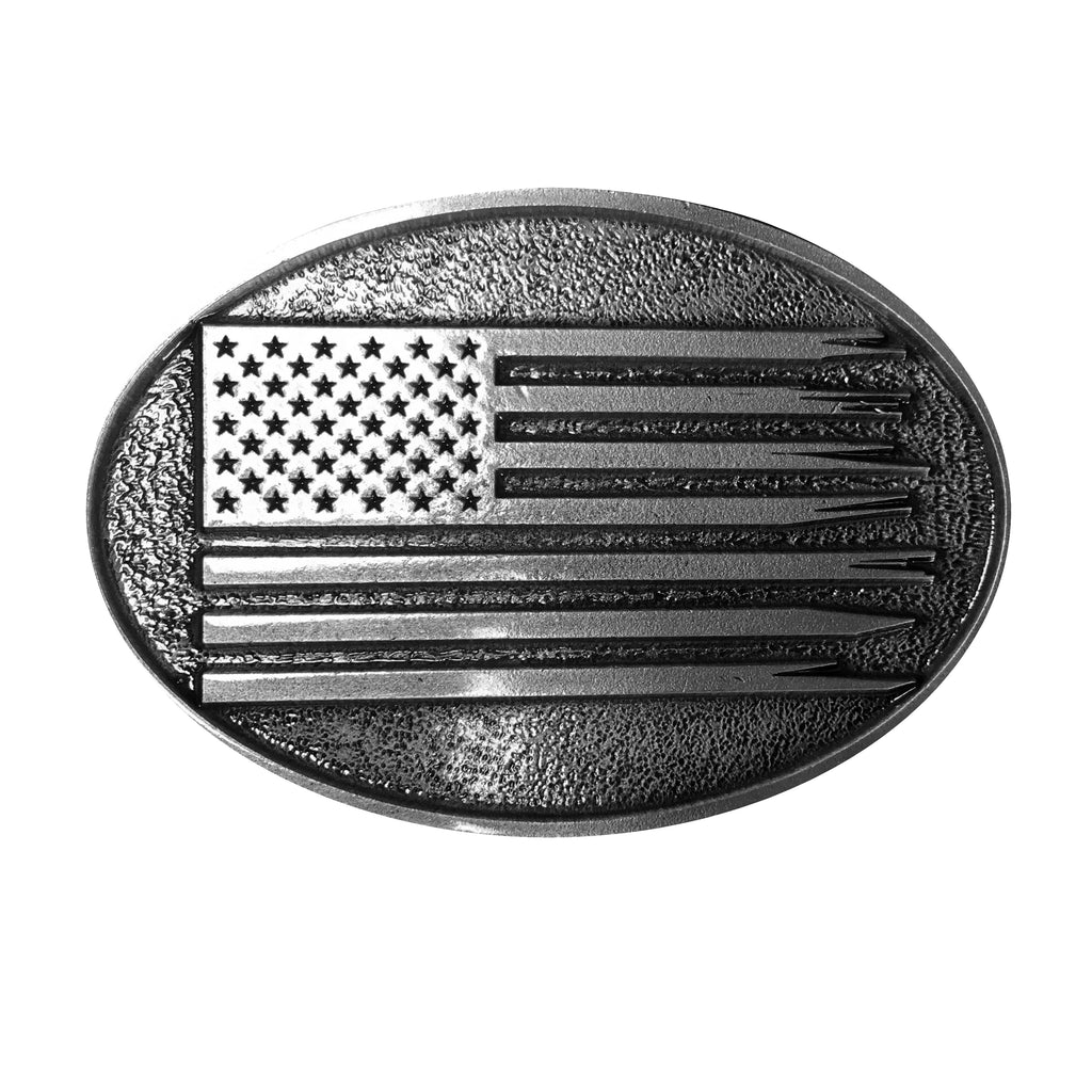 American Flag Belt Buckle