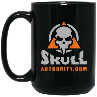 Skull Authority Black Mug - 16oz.