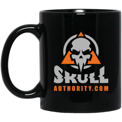 Skull Authority Black Mug - 12oz.