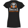 Skull Authority Ladies' Fitted Softstyle V-Neck Tee