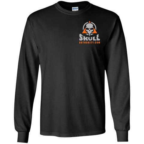 NEW! Skull Authority Long Sleeve T