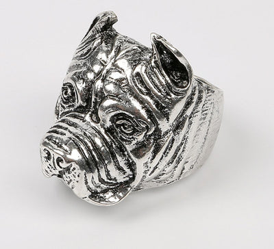 So Cute!  French Bulldog Ring for Women