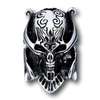 War Skull Stainless Steel Ring