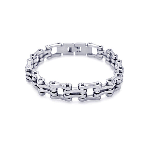Classic Stainless Steel Chain Bracelet