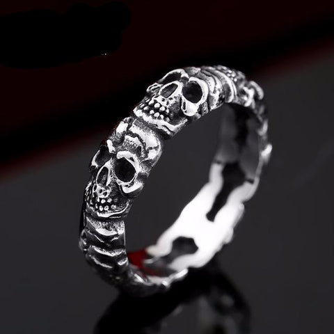 Stainless Steel Skull Band