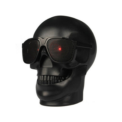 HD Wireless Bluetooth Skull Speaker